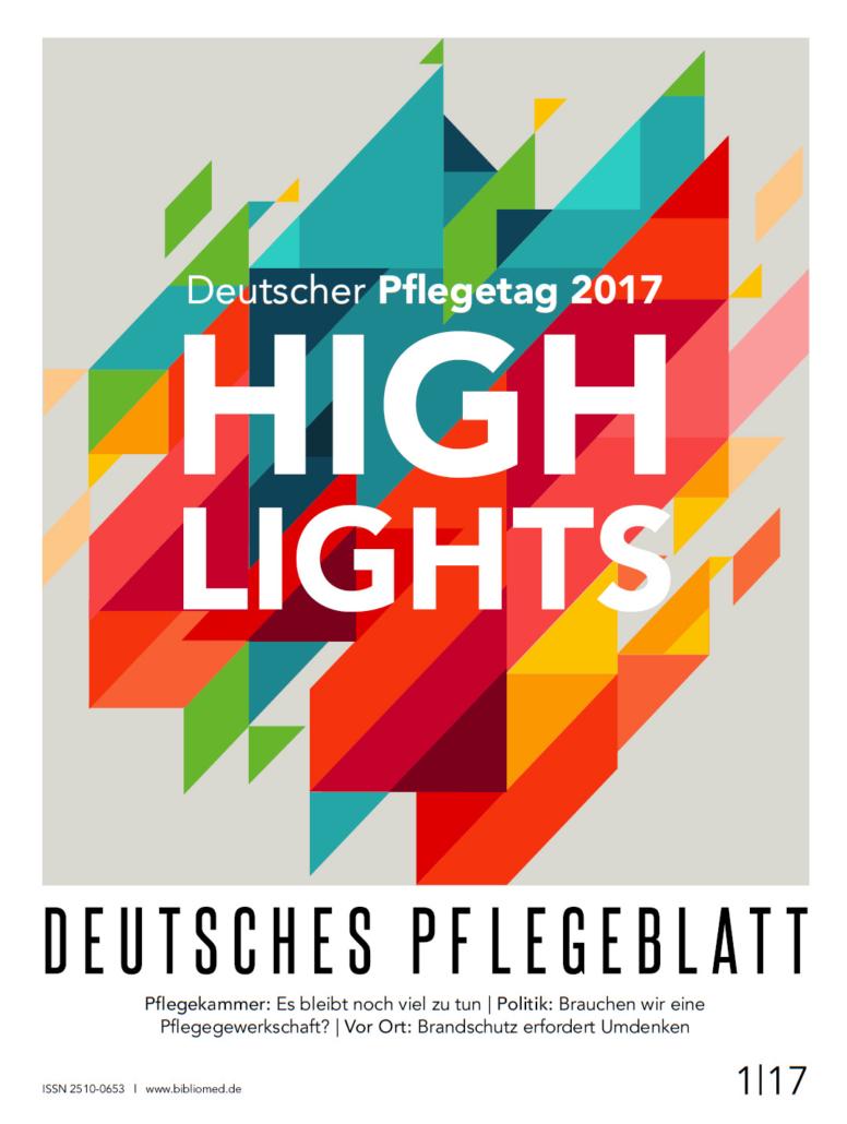 Deutsches Pflegeblatt 1-2017