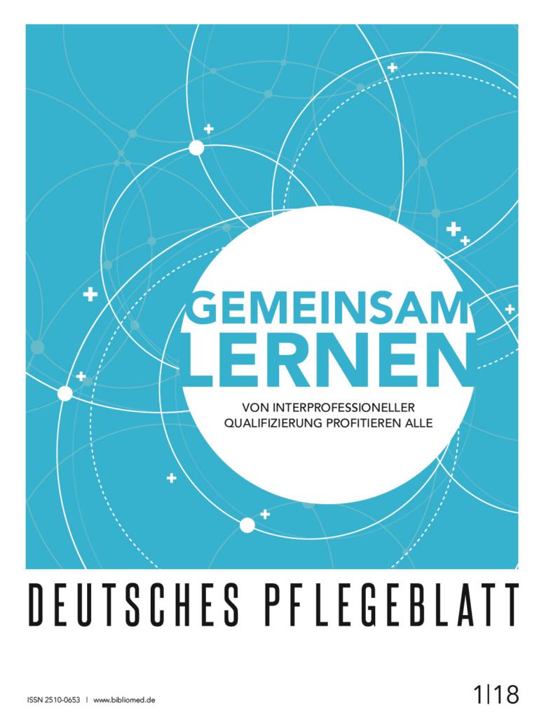 Deutsches Pflegeblatt 1-2018